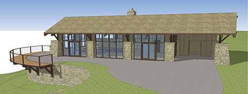 The Lodge rendering